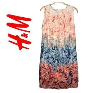 H&M Sleeveless Floral Print Women's Dress